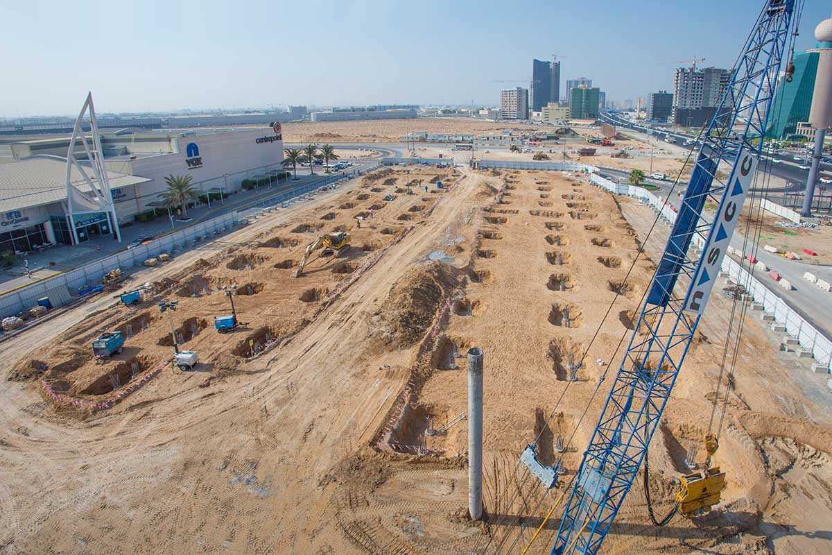 Work In Progress – Ajman City Centre