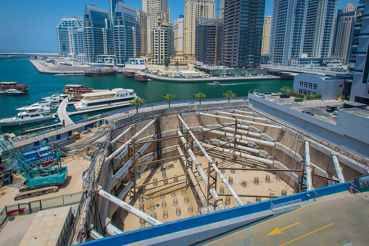Stella Maris Tower, Dubai Marina Waterfront Development