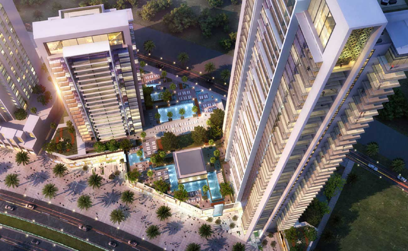 BLVD Crescent Luxury Residential Towers