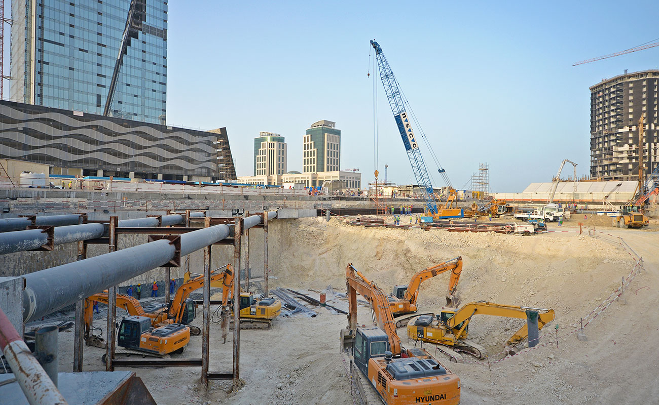 KAHRAMAA New HQ Tower in Lusail, Doha