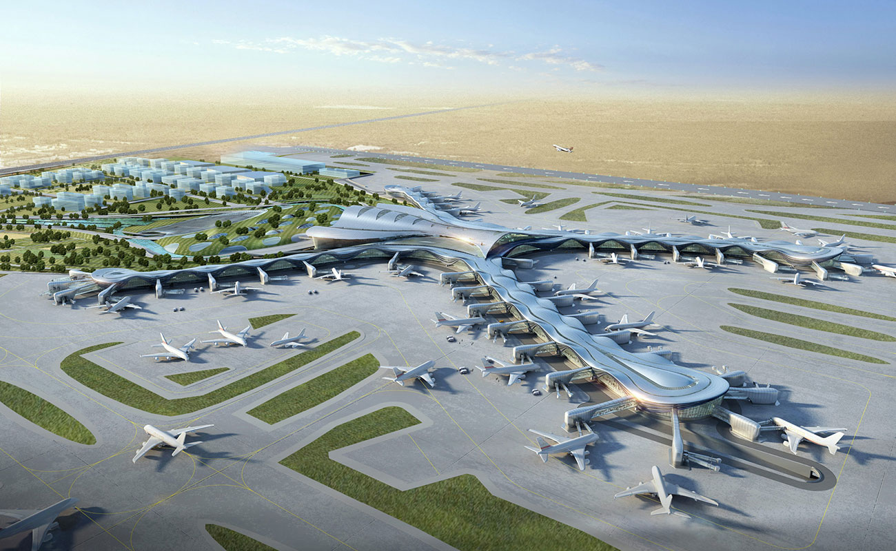 Abu Dhabi International Airport Midfield Terminal Complex