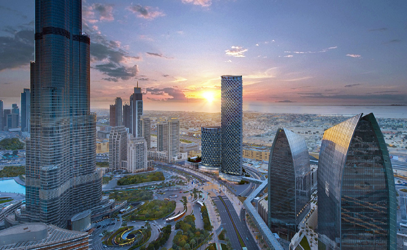 Burj Vista Luxury Residential Towers