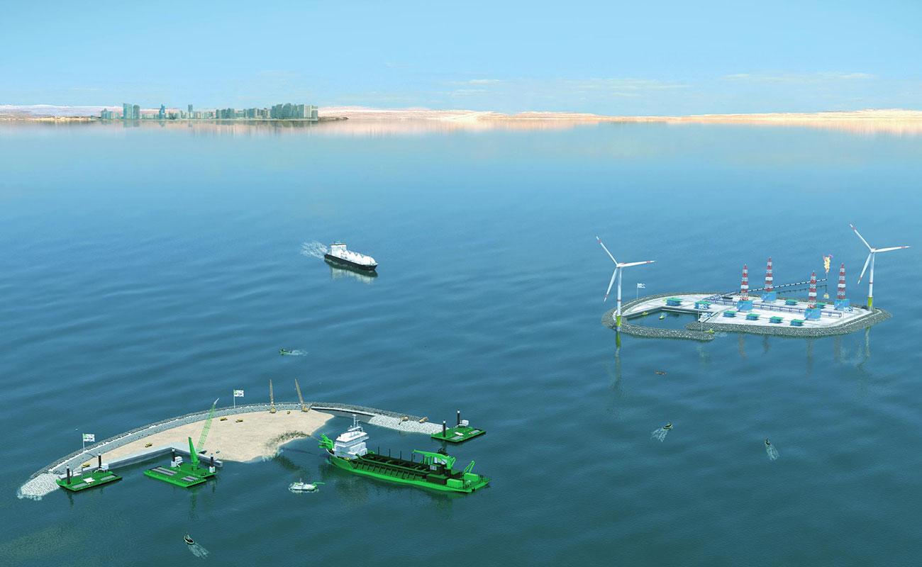 Vibro Compaction for Satah Al Razboot Islands