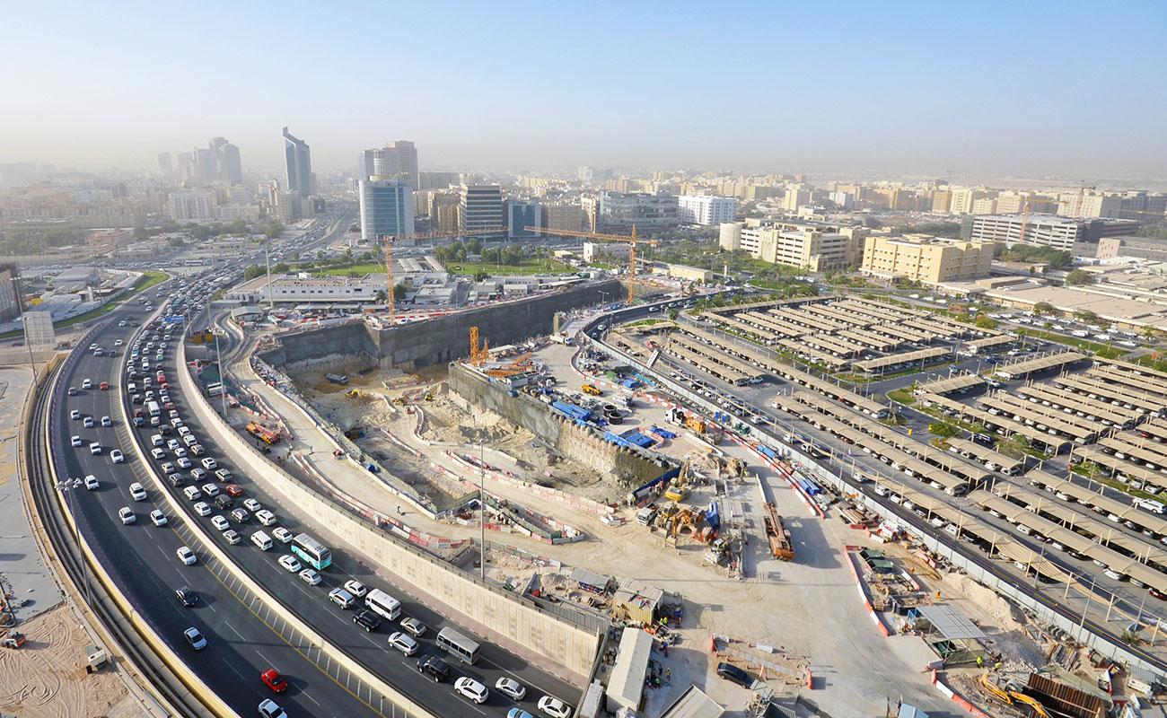 Doha Metro Green Line - Al Rayyan/C-Ring Station