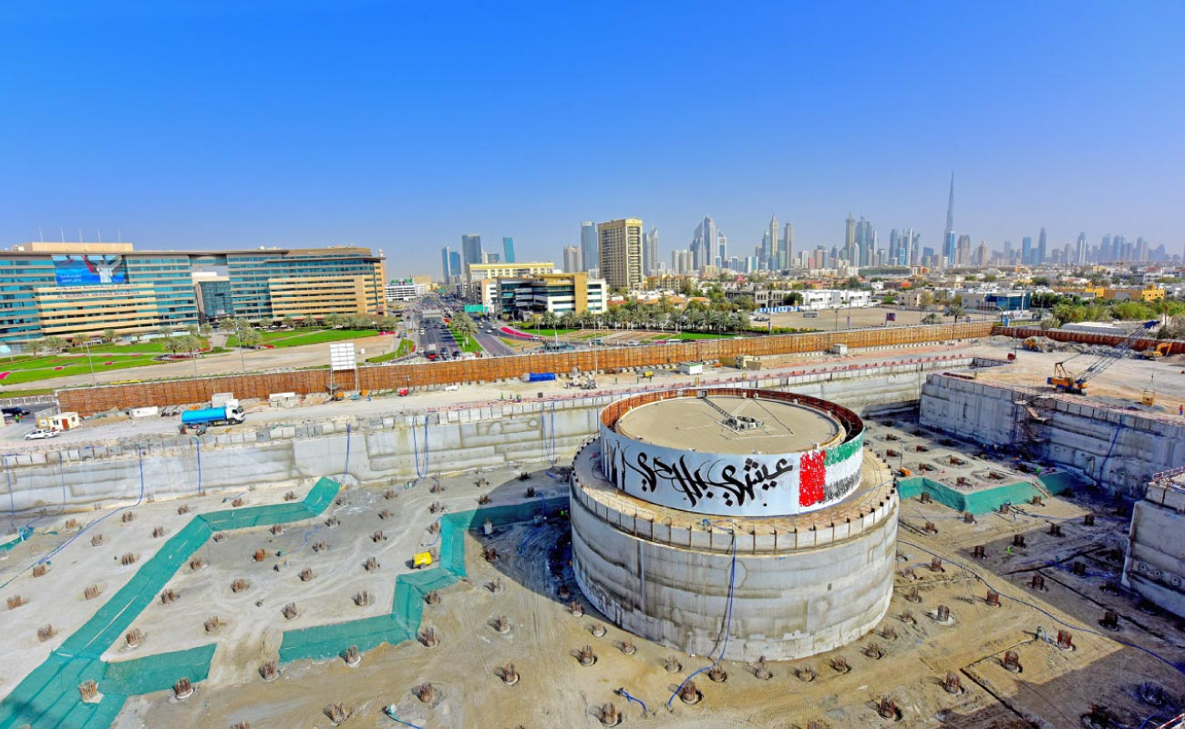 Etihad Museum in Jumeirah, Dubai