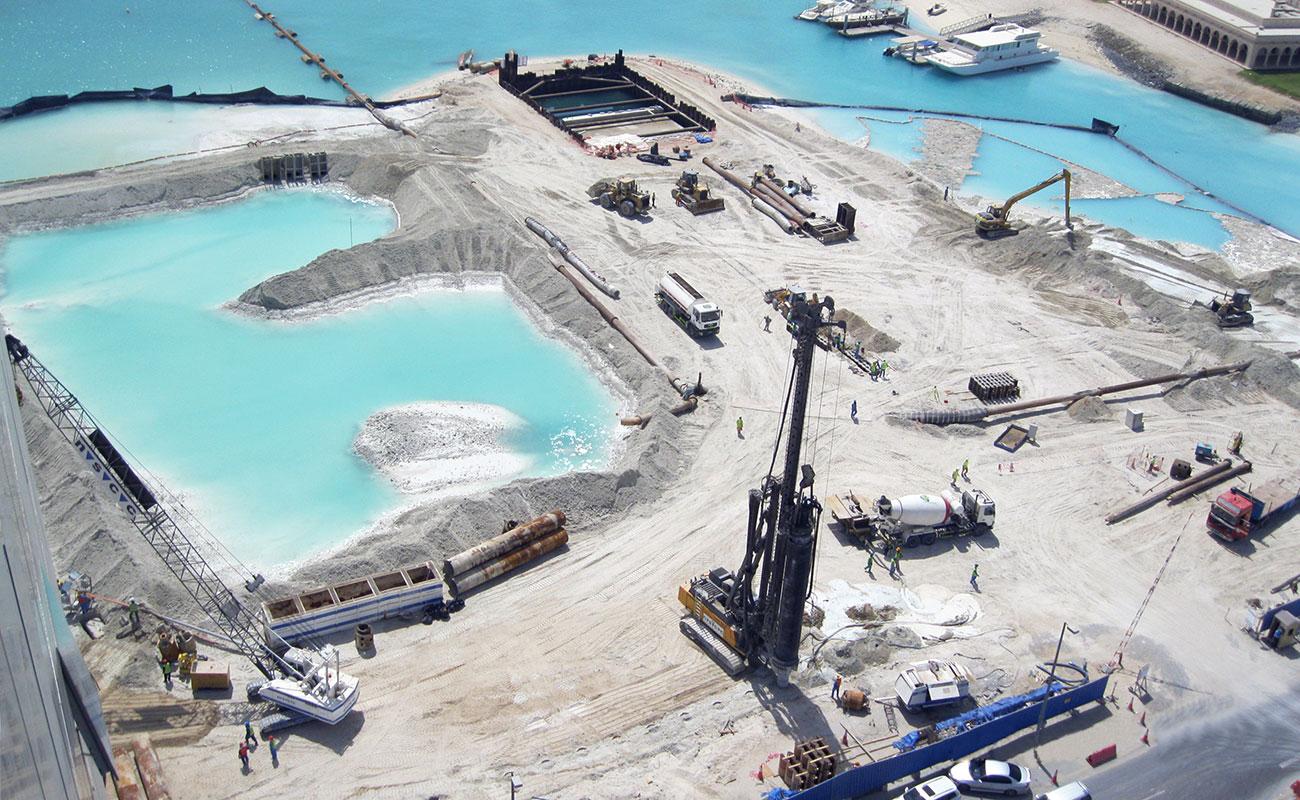 Al Bateen Wharf - East Bay Marine Works