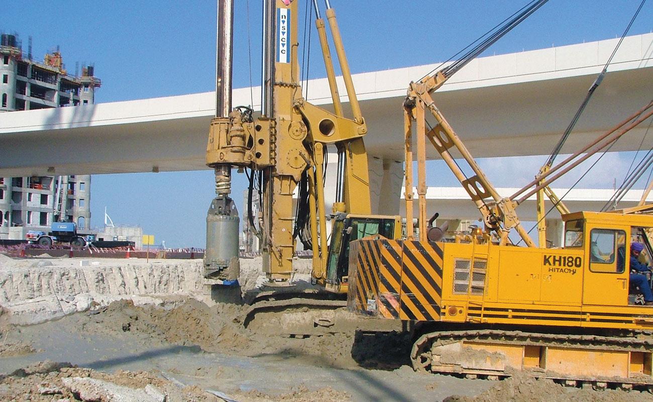 Palm Jumeirah Reinforced Concrete Spine Underpass