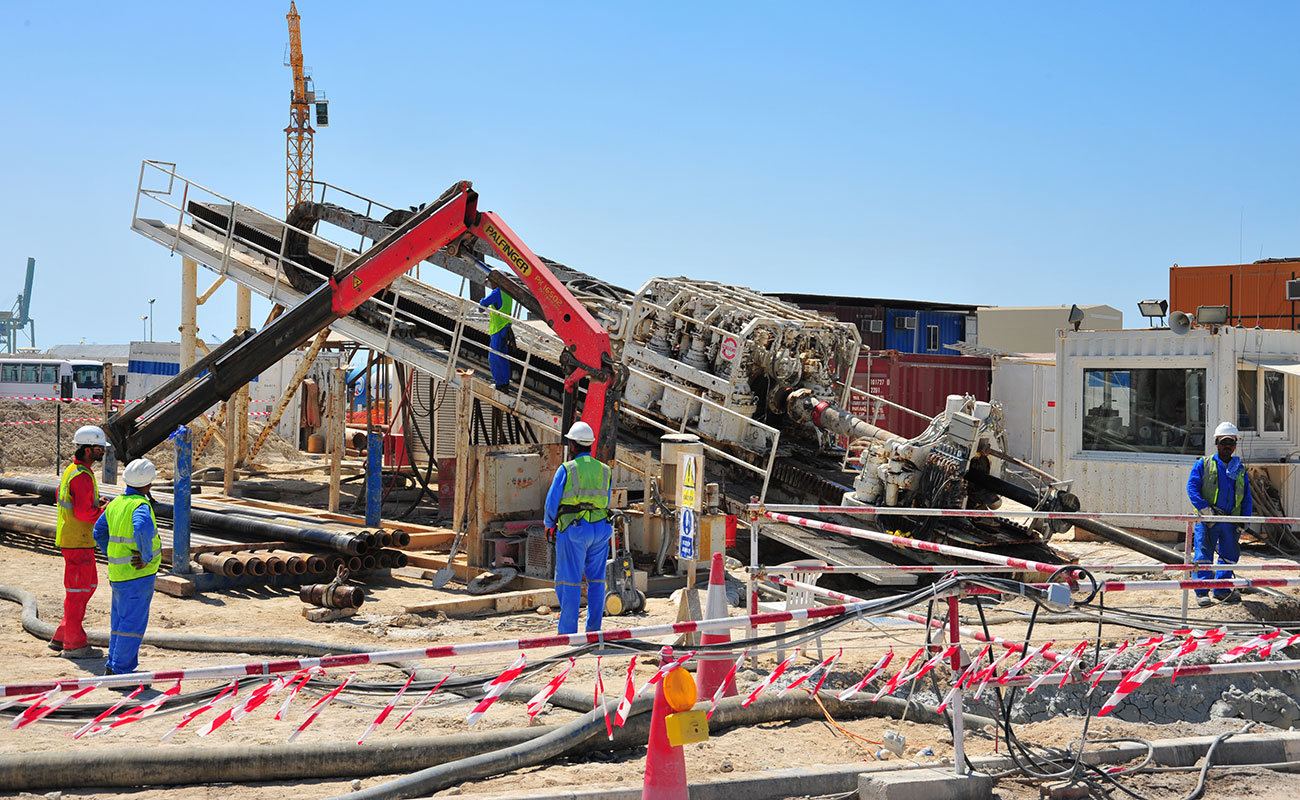 HDD Pipeline Crossing between Zayed Port and Saadiyat Island | NSCC